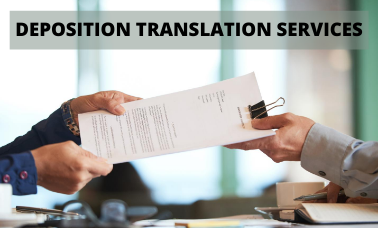 Deposition Translation Services