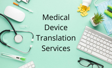 Medical Device Translation Services