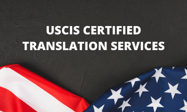 USCIS Certified Translation Services
